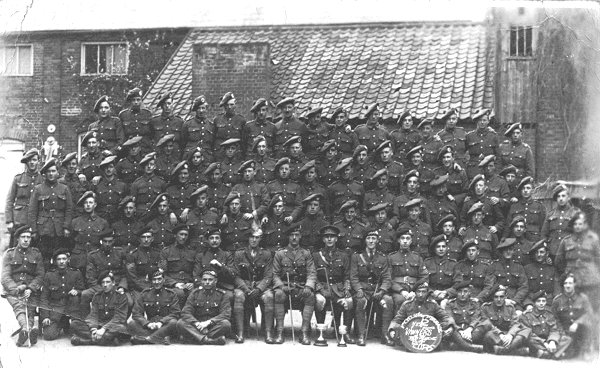 Gordon Llewellyn Griffiths (1888 - 1943) Lovat Scouts. Part of the 1st Cycle Brigade in 1917